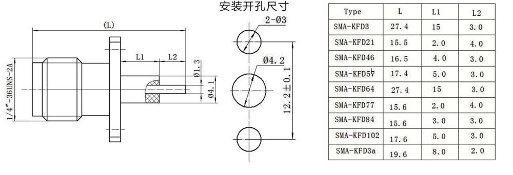 在从同轴电缆到波导管的转换,以及微波传输带印刷电路板迹象的转换.